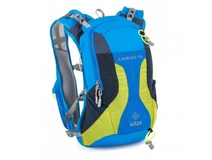 Cyklistický a běžecký batoh Cadence-u modrá - Kilpi UNI 10L