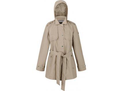 Dámský kabát Regatta RWW335 Garbo 1NY béžový