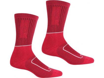 Dámské ponožky Regatta RWH046 LdySamaris2Season J9H růžové