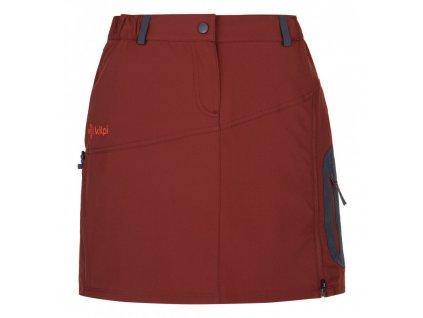 Dámská outdoorová sukně  Ana-w tmavě červená - Kilpi