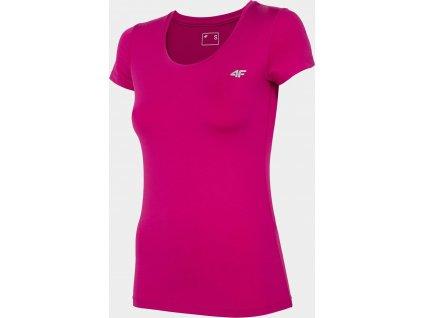 Dámské tričko 4F TSDF002 Růžové