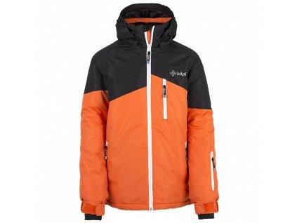 Chlapecká lyžařská bunda Oliver-jb oranžová - Kilpi