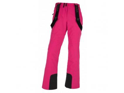 Dámské lyžařské kalhoty Elare-w růžová - Kilpi