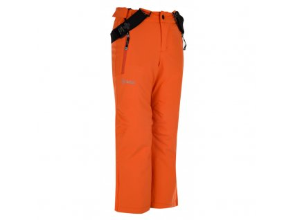 Chlapecké lyžařské kalhoty Methone-jb oranžová - Kilpi