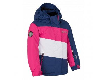 Dívčí lyžařská bunda  Kally-jg tmavě modrá - Kilpi