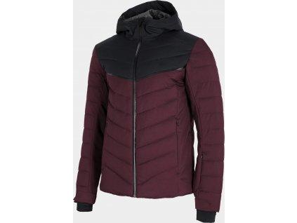 Pánská lyžařská bunda 4F KUMN152R Burgund