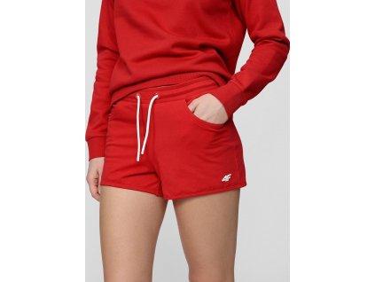 Dámské šortky 4F SKDD001 červené