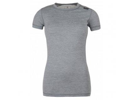 Dámské tričko Merin-w tmavě šedá - Kilpi
