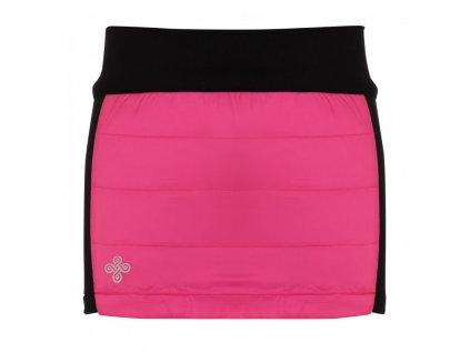 Dívčí zateplená sukně Matira-jg růžová - Kilpi