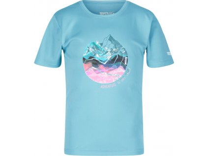 Dětské tričko Regatta RKT112 Alvarado V P7D světle modré