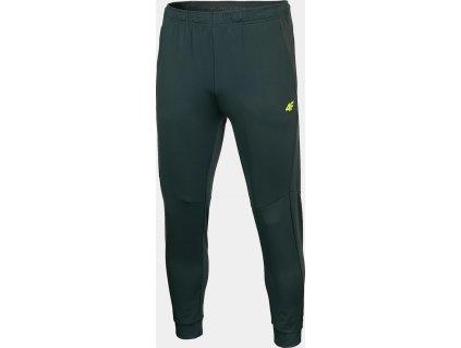 Pánské funkční kalhoty 4F SPMTR011 tmavě zelené