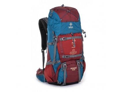 Turistický batoh 45+5 L Ecrins-u tmavě červená - Kilpi UNI