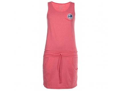 Dámské bavlněné šaty Fantasia-w růžová - Kilpi