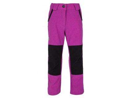 Dívčí kalhoty Karido-jg fialová - Kilpi