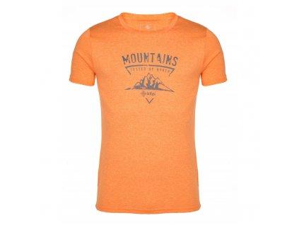 Pánské funkční tričko Garove-m oranžová - Kilpi