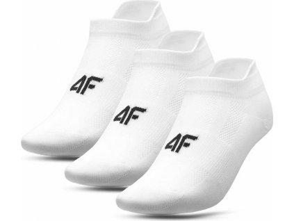 Dámské ponožky 4F SOD006 bílé