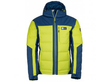 Pánská lyžařská bunda Helios-m světle zelená - Kilpi