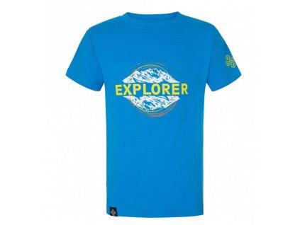 Chlapecké bavlněné tričko Salo-jb modrá - Kilpi