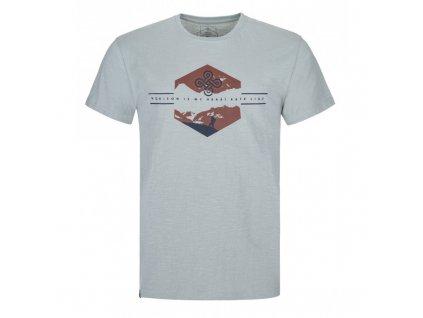 Pánské bavlněné tričko Ferne-m světle modrá - Kilpi