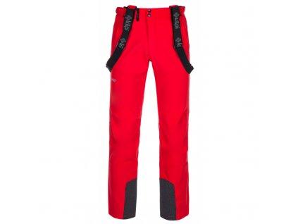 Pánské lyžařské kalhoty Rhea-m červená - Kilpi