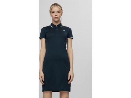 Dámské šaty 4F SUDD080 tmavě modré