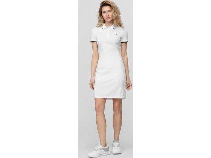 Dámské šaty 4F SUDD080 Bílé