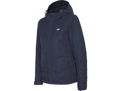 Dámská lyžařská bunda 4F KUDN301 tmavě modrá