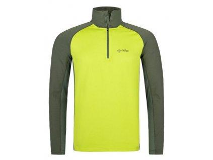 Pánské funkční tričko Willie-m světle zelená - Kilpi (nadměrná velikost)