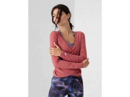 Dámské tričko 4F H4Z21 TSDL014 růžové