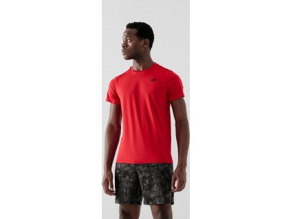 Pánské funkční tričko 4F NOSH4-TSMF351 červené