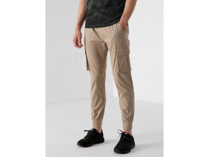 Pánské kalhoty 4F 4F H4Z21 SPMC012 světle hnědé 01
