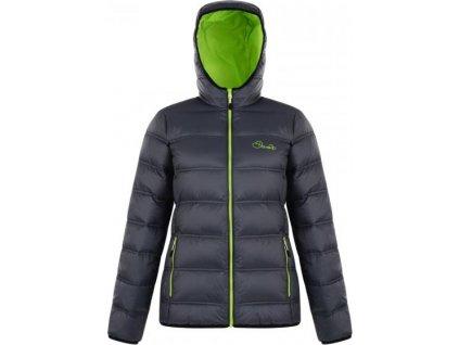 Dámská zimní péřová bunda Dare2B DWN308 LOW DOWN Ebony Grey