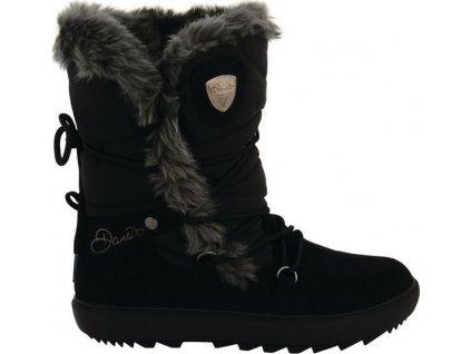 Dámské zimní boty DWF313 DARE2B Karellis Černé