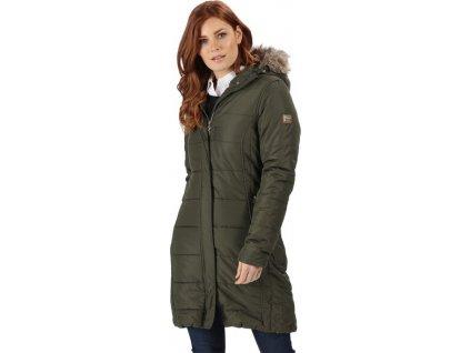 Dámský kabát Regatta RWN123 FERMINA II Khaki