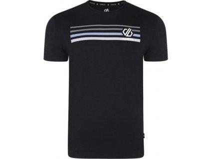 Pánské tričko DMT489 DARE2B Strife Tee Černé
