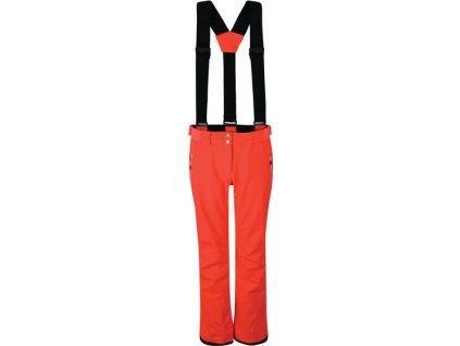 Dámské lyžařské kalhoty DWW460 DARE2B Effused Oranžové