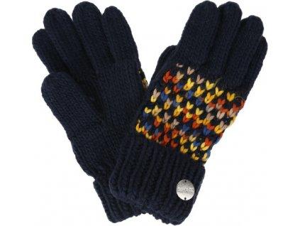 Dámské zimní rukavice RWG045 REGATTA Frosty III Tmavě modré