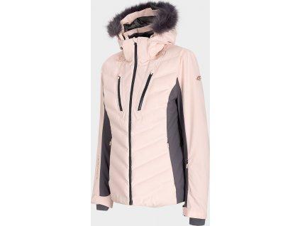 Dámská  lyžařská bunda 4F KUDN103 Růžová