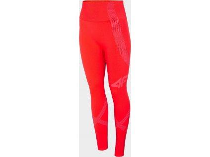 97511 damske termo kalhoty 4f bidb100d cervene