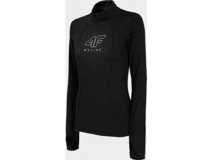 Dámské termo tričko 4F BIDD252 Černé