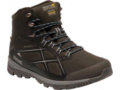 Pánské zimní boty RMF635 REGATTA Kota Thermo MidII Černé