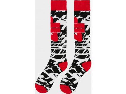 Chlapecké lyžařské ponožky  4F JSOMN402 Červené