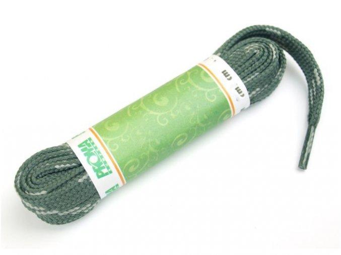 Tkaničky SPORT plochá 270120 PROMA 120 cm ŠEDÁ