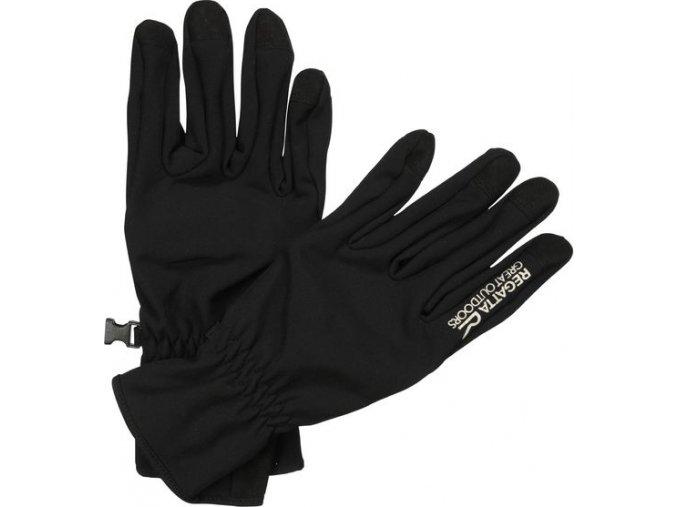 63885 panske softshellove rukavice regatta rmg010 xert s shell black