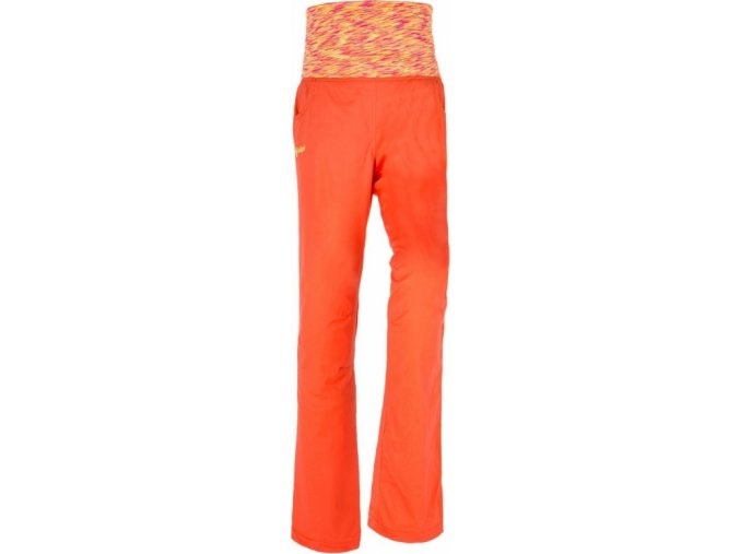 66456 damske kalhoty kilpi rotorua w oranzova