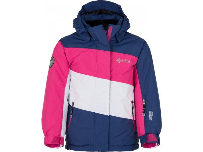 Dívčí lyžařská bunda KILPI KALLY-JG Tmavě modrá