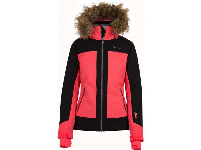 Dámská lyžařská bunda KILPI DARJA-W Růžová