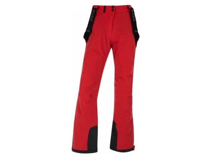67017 damske lyzarske kalhoty kilpi europa w cervena