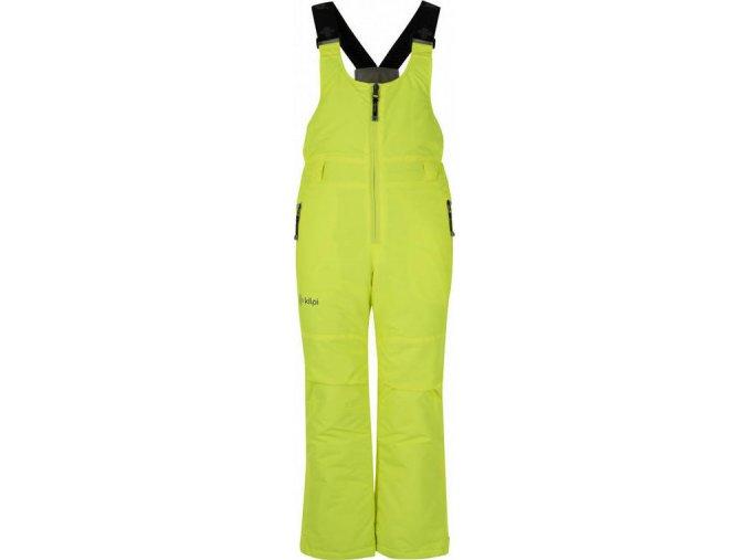 Dětské lyžařské kalhoty KILPI DARYL-JB Žlutá