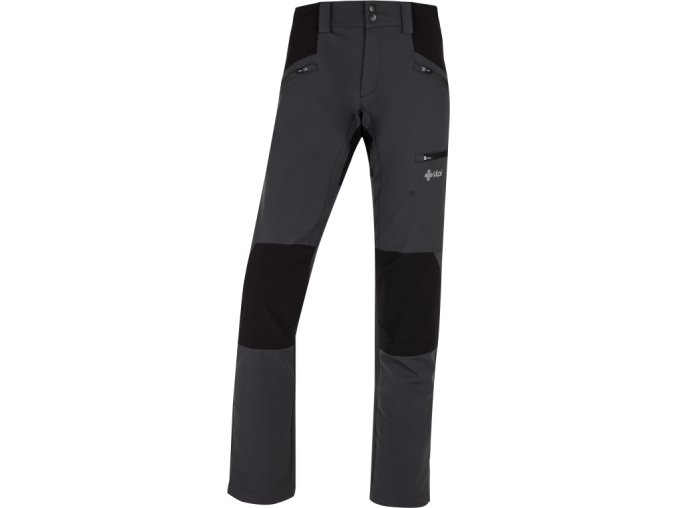 67389 damske outdoor kalhoty kilpi tide w tmave seda